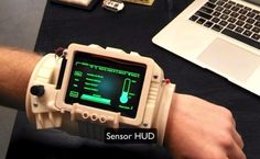 Working Pip-Boy 3000 designed for astronauts http://bit.ly/1snMCRI