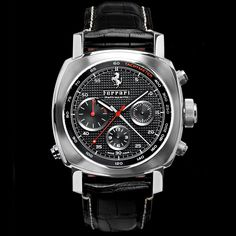 fans of both Ferrari and Panerai will have something to cheer about. Ferrari has just recently announced the availability of a collection of the Officine Panerai For Ferrari Watches. Best Watches For Men, Big Watches, Amazing Watches, Gents Watches, Fossil Watches, Luxury Watches For Men, Beautiful Watches, Cool Watches, Dream Watches