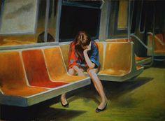 """(Van Wieck) """"Q Train"""" - 1990"""