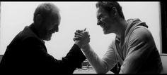 Michael Fassbender & Liam Cunningham: 'Pitch Black Heist' short film