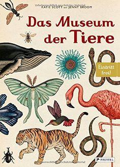 Das Museum der Tiere: Eintritt frei!; Jenny Broom (Autor), Katie Scott (Illustrator)