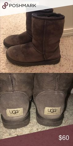 Brown uggs Size 7 UGG Shoes Winter & Rain Boots