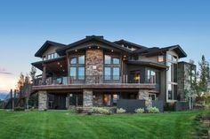 Craftsman Style House Plan - 6 Beds 5.5 Baths 6680 Sq/Ft Plan #920 ...