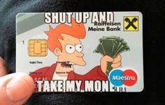#perfect bank card