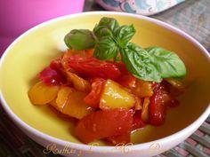 Peperonata,ricetta vegetariana