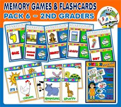 ENGLISH STEP BY STEP - 2ND GRADERS (PACK 6) http://teachenglishstepbystep.weebly.com/step-by-step---2nd-graders.html