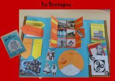 les lapbooks des régions de mes élèves