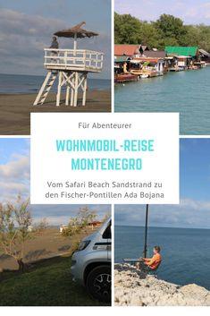 Lust auf Montenegro? Der Blog-Bericht erzählt, wie die Wohnmobil-Reise nach Montenegro verläuft und wo man im Süden Montenegros einen wunderschönen Sandstrand findet. #reisebericht #camping #wohnmobil #montenegro #ulcinj Montenegro, Safari, Camping, Strand, Blog, Old Town, Travel Report, Viajes, Campsite