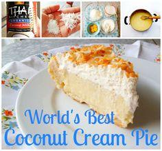 World's Best Coconut Cream Pie