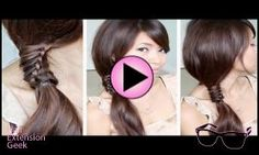 Chinese Staircase Braid | What to Do With Your Luxury H