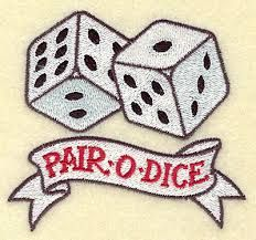 Image result for dice tattoo