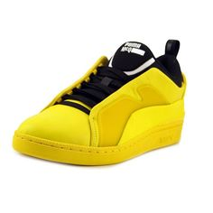 b3fee8767c0f28 Alexander McQueen By Puma McQ Brace Lo Men Round Toe Leather Sneakers