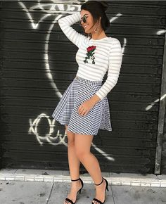 Skirt Outfits, Chic Outfits, Pretty Outfits, Fall Outfits, Fashion Outfits, Womens Fashion, Spring Summer Fashion, Autumn Fashion, Office Outfits