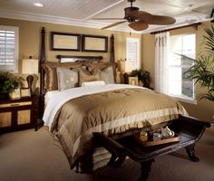 A small bedroom that makes up for it's lack of size with beautiful and luxurious decorating.