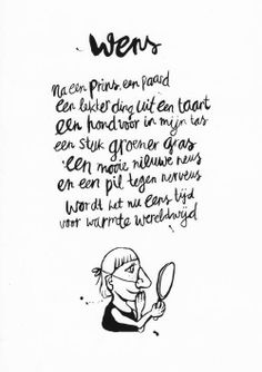 Wens Best Quotes, Love Quotes, Inspirational Quotes, Love Words, Beautiful Words, Words Quotes, Sayings, Word Poster, Dutch Quotes