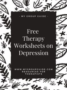 Free therapy resources: mental health worksheets on conflict, depression, emotional awareness, irrational thinking, & more. Counseling Worksheets, Therapy Worksheets, Counseling Activities, Therapy Activities, Group Activities, Mental Health Journal, Mental Health Resources, Free Therapy, Therapy Tools