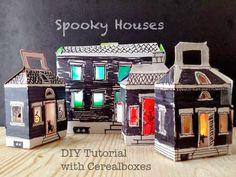 Halloween Decorazioni fai da Te: Riciclo Creativo Scatole di Cartone