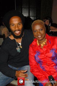 Angelique Kidjo Albums   Angelique Kidjo and Ziggy Marley Attend the Batonga Foundation Fall ... Rastafarian Culture, African Trade Beads, Soul Music, Celebrity Couples, Bob Marley, Reggae, Jamaica, Fundraising, Beautiful Men