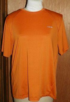3447a843105e Mens Orange Short Sleeve Reebok Shirt Size M Medium #Reebok #Pullover