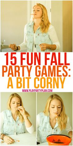 Try these fall games at your next fall party