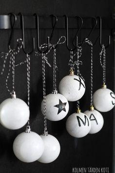 Joulupallo-DIY - Kolmen Tähden Koti - CASA Blogit