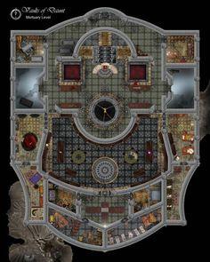 Image result for d&d battlemap temple