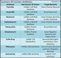 "Antibiotics and What They Do....great chart to have for Pharm and I would keep it with what you bring to your Med/Surg clinicals...esp if your Clinical Instructor likes to DRILL you on what you may think are ""minute"" facts ..."