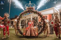 Great bridal entry ideas to pick for your wedding. Most unique bride entries. Desi Wedding Decor, Wedding Hall Decorations, Wedding Reception Backdrop, Marriage Decoration, Wedding Mandap, Wedding Walkway, Wedding Entrance, Entrance Decor, Wedding Ideas