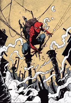 Spider-Man by Dan Mora, via Behance