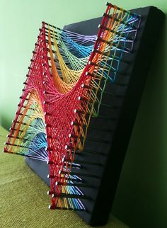 Aline Campbell: string art                                                                                                                                                                                 More