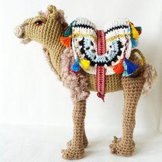camello amigurumi pagina japonesa.