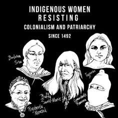 "3,364 Likes, 15 Comments - GuerrillaFeminism (@guerrillafeminism) on Instagram: ""Rad! From @nalgonapositivitypride ❤️❤️❤️ #indigenous"""
