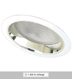 Elco 6 CFL Sloped Reflector with Regressed Albalite Lens Trim - Gold Reflector, White Ring Commercial Lighting, Sloped Ceiling, Light Fixtures, Lens, Product List, Gold, Products, Slanted Ceiling, Light Fixture