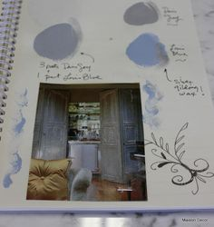 Mixing up Louis Blue and Paris Grey in the Workbook~! by Maison Decor