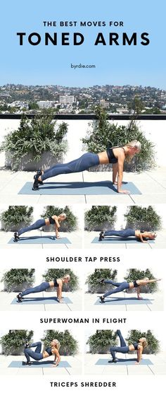 Byrdie | Fit GIFs: 3 Moves to Get Toned Arms