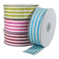 Woven Ribbon- Striped Naturalshttp://www.b2bwraps.com/woven-ribbon-natural-with-stripes