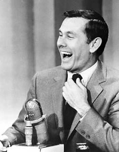Johnny Carson......this is the one guy I would still watch every night !! sure do miss him.