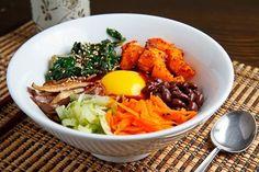 Roasted Squash & Swiss Chard Quinoa Bibimbap