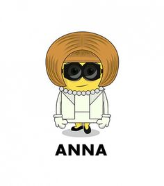 See Anna Wintour, Karl Lagerfeld, and More as Fashion Minions via @WhoWhatWear