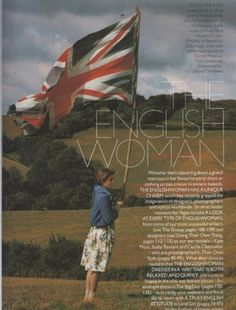 Iris Palmer in Land Girl photographed by Tim Walker for UK Vogue, January 1996