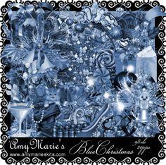 AmyMaire: PTU Blue Christmas