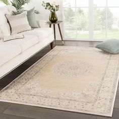 Everly Medallion Beige/ Green Area Rug - (Beige/Green - Brown, Juniper Home (Acrylic, Border) Rod Pocket Curtains, Drapes Curtains, Rectangular Rugs, Online Home Decor Stores, Outdoor Rugs, Colorful Rugs, Blue Area Rugs, Entryway Decor, Rug Size
