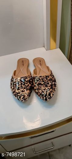 Juttis & Mojaris  Latest Trendy Women Jutis  Material: Soft Leather Sole Material: EVA Pattern: Embellished Multipack: 1 Sizes:  IND-7 IND-10 IND-9 IND-8 Country of Origin: India Sizes Available: IND-8, IND-9, IND-10, IND-3, IND-4, IND-5, IND-6, IND-7   Catalog Rating: ★4.2 (9284)  Catalog Name: Latest Trendy Women Jutis CatalogID_1208320 C75-SC1069 Code: 692-7498721-053