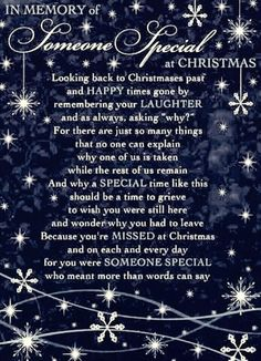 Christmas and grief is a bad combination