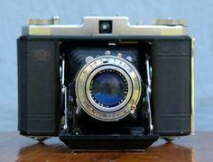 Vintage Zeiss Ikonta Folding 120 film camera by CanemahStudios, $150.00
