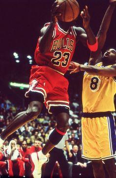 Michael Jordan & Kobe Bryant - Jordan is still the man and will ALWAYS be THE man!