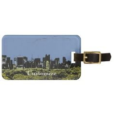 NYC View Tags For Luggage  Please invite me to COOL PRODUCTS FROM FELLOW ZAZZLERS