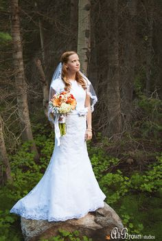 modest wedding gown