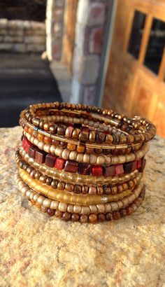 Memory wire bracelet                                                                                                                                                                                 More