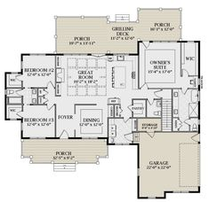 Simple layout of master suite. (build out wall between bedroom and vanity area. Basement House Plans, Barn House Plans, New House Plans, Dream House Plans, Modern House Plans, House Floor Plans, Open Concept House Plans, House Layout Plans, House Layouts
